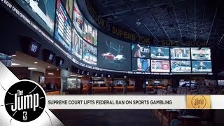 Download How does sports gambling legalization impact the NBA? | The Jump | ESPN Video