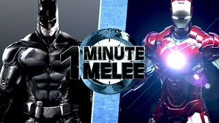 Download One Minute Melee S4 EP6 - Batman vs Ironman (DC vs Marvel) Video