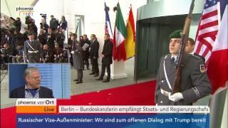 Download Obama in Deutschland, Tag zwei: u.a. Empfang Regierungschefs im Kanzleramt am 18.11.2016 Video