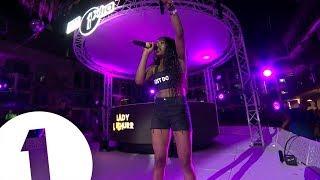 Download Lady Leshurr - Radio 1 in Ibiza 2018 - Ibiza Rocks | FLASHING IMAGES Video
