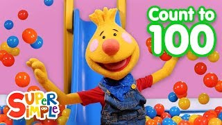 Download Super Duper Ball Pit | Learn To Count From 1 To 100 | Educational Videos For Kids Video