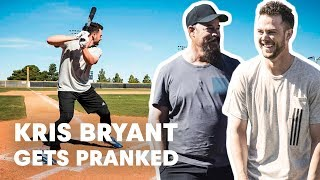 Download Baseball Star Kris Bryant Gets Pranked by Hall of Famer Greg Maddux Video