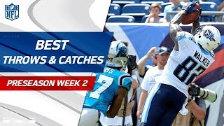 Download Best Throws & Catches of Week 2 | NFL Preseason Highlights Video