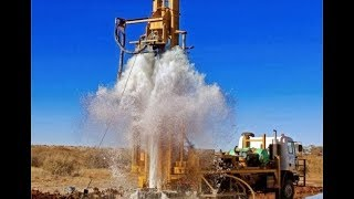 Download Ground Water Testing with Coconut, and With Machar, Borewell Drilling, Pumping Water in Borewell. Video