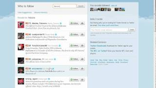 Download Twitter: Using the search feature Video