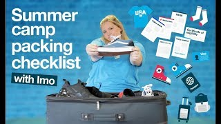 Download SUMMER CAMP IN AMERICA YOUR PACKING CHECKLIST Video