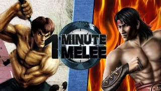 Download One Minute Melee S4 EP7 - Fei Long vs Liu Kang (Street Fighter vs Mortal Kombat) Video