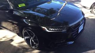 Download All New 2018 Accord Sport - Black Video