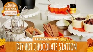 Download DIY Holiday Cocoa & Drink Station - HGTV Friendsgiving Video