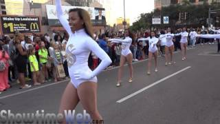 Download Southern University Dancing Dolls and Human Jukebox Marching Band - 2016 Bayou Classic Parade Video