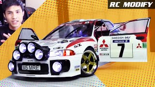 Download RC Modify 15   Mitsubishi Evolution III EVO 3 WRC Rally [English] Video