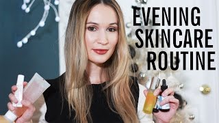 Download EVENING SKINCARE ROUTINE • combination/oily, acne-prone, dehydrated skin | ttsandra Video