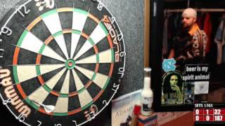Download Rattlesnake vs Ezgame -WDA Darts Video