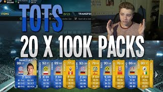 Download FIFA 14 - TOTS 20 x 100k Packs | HUGE Pack Opening! Video