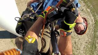 Download rescue from WInd Turbine Video