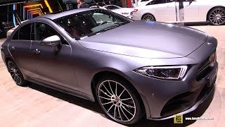 Download 2019 Mercedes AMG CLS 450 4Matic Coupe - Exterior and Interior Walkaround - 2018 Geneva Motor Show Video