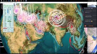 Download 2/18/2017 - Nightly Earthquake Update + Forecast - M6.3 in Chile , Pacific, Europe, USA watches Video