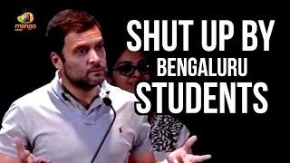 Download Rahul Gandhi Made To Shut Up By Bengaluru Students | Rahul Quiz Backfires Video