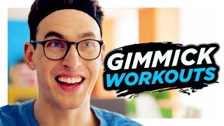 Download Gimmick Workouts Aren't Real Exercise | Hardly Working Video