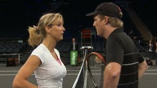 Download Jim Courier, Andre Agassi, and Lara Spencer PUNK'D on 'GMA' | Good Morning America | ABC News Video