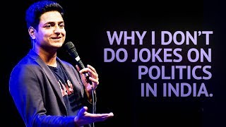 Download Why I Don't Do Jokes About Politics in India - Stand Up Comedy | Kenny Sebastian Video