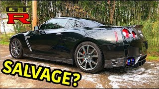 Download Rebuilding A Wrecked 2013 Nissan GTR Video