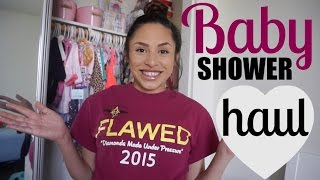 Download First Baby Haul - BABY SHOWER HAUL! Video
