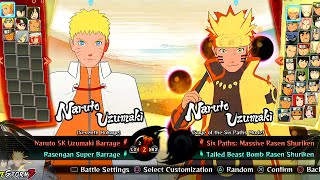 Download Naruto Shippuden Ultimate Ninja Storm 4 - All Characters And Costumes (Including All DLC) Video