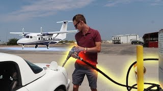 Download We Put AIRPLANE Fuel In Our Racecar! Video
