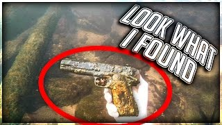 Download Found Murder Weapon Underwater in a River! (LIVE FOOTAGE) Video