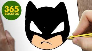Download COMO DIBUJAR BATMAN EMOTICONOS WHATSAPP KAWAII PASO A PASO - Dibujos kawaii fáciles Video