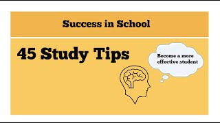 Download Improve your grades-45 Study tips to help you study effectively Video