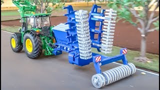 Download RC tractor seed machine gets unboxed and tested for the first time! Video