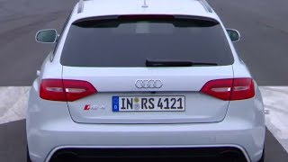 Download Audi RS4 Avant - Track Test Video