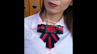 Download Corbatin VICTORIANO VIDEO No.23 curiosidades Angela peralta/bow brooch Video