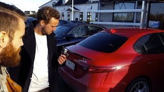 Download Juniorreporterne tester 510 hestes Alfa Romeo Giulia Q Video