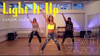Download Dance With Zazou: Major Lazer - Light It Up (Dance Tutorial) Video