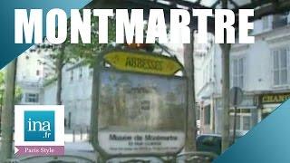 Download Visite du Montmartre inconnu | Archive INA Video