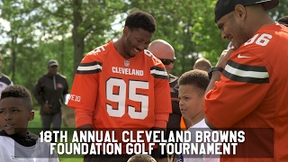 Download Myles Garrett, David Njoku, more host Dawg Pound Games at annual golf tournament Video