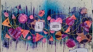 Download Mixed Media Art Journal Page #4 Video