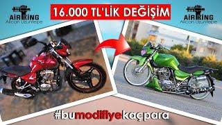 Download 16.000 TL'lik DEĞİŞİM !!! AIRKING - Mondial 150MH Drift - Alican Uzuntepe (#bumodifiyekaçpara) Video