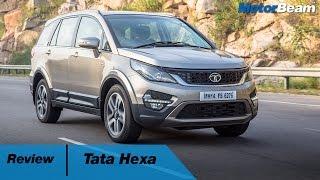 Download Tata Hexa Review - Better Than Mahindra XUV500? | MotorBeam Video