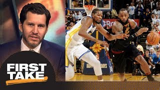 Download Will Cain says LeBron James-Kevin Durant only rivalry alive for Cavs-Warriors | First Take | ESPN Video