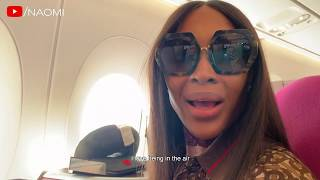 Download Naomi Campbell's Airport Routine | Come Fly With Me Video