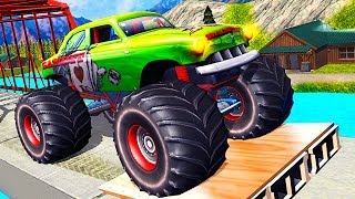 Download Monster Truck Hill Racing - Android Gameplay HD Video Video