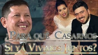 Download ¿Para qué Casarnos si ya vivimos Juntos? - Padre Luis Toro EN VIVO desde Sucúa Ecuador 2018 Video
