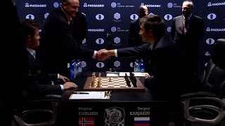 Download World Chess Championship 2016 Carlsen v Karjakin Game 1 Video