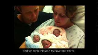 Download Footsteps - In Memory of our Triplets Video