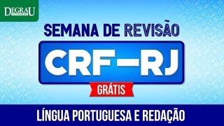 Download SEMANA DE REVISÃO Concurso CRF-RJ | Aulão Língua Portuguesa e Redação | Degrau Cultural Video