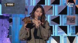 Download 161202 Ailee(에일리) - Best Vocal Performance Female solo @ 2016 MAMA [ HD1080P] Video